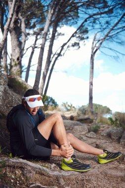 Running injury for trail runner