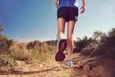 allenamento della donna per il fitness di maratona