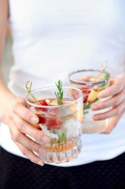 Fruity refreshment drinks