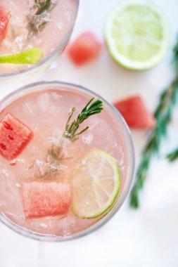 Refreshing Watermelon drink