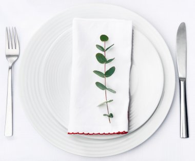 Simple dinner setting
