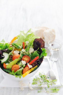 Fresh delicious healthy salad