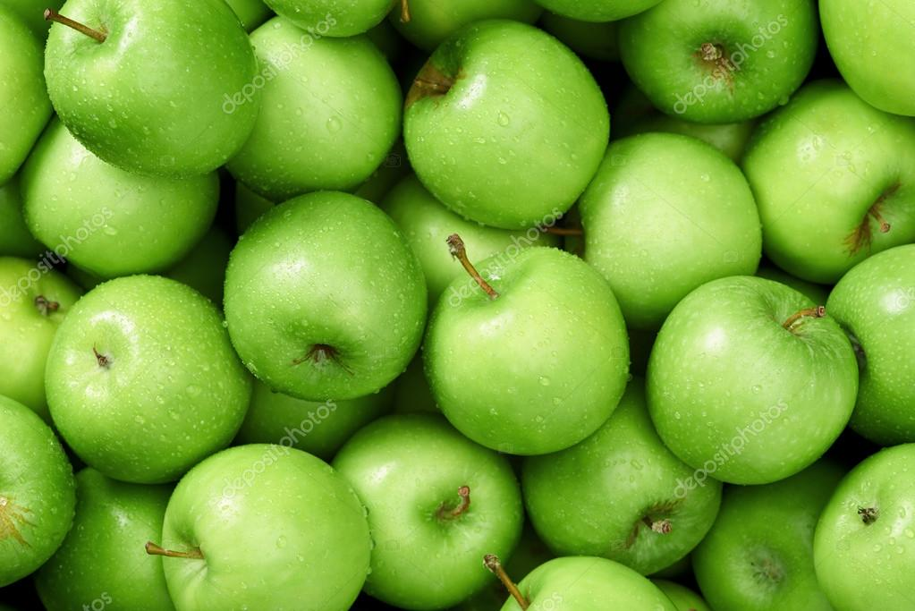 Apples background close up — Stock Photo © Daxiao ...