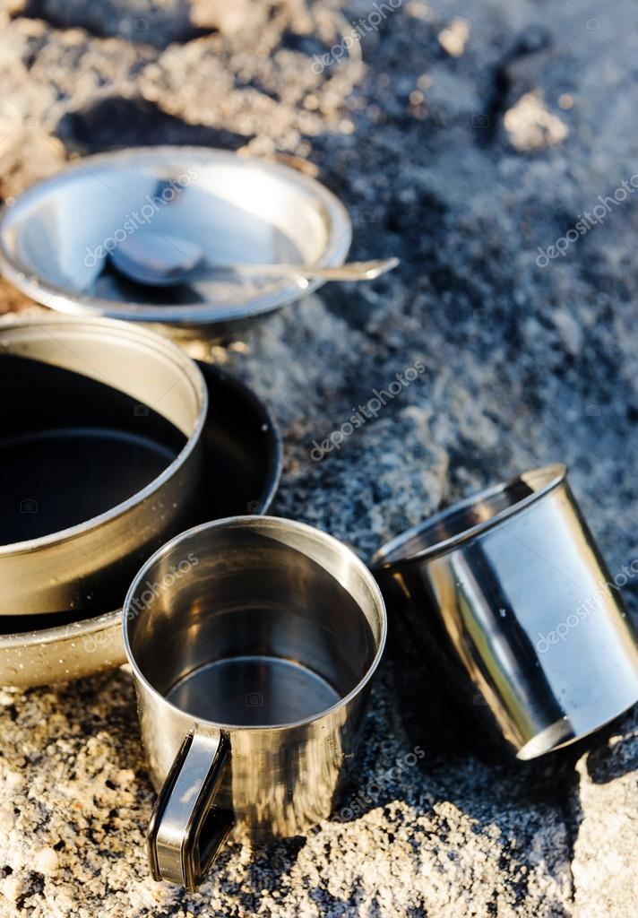 camping cooking objects