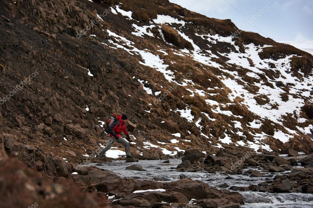 Hiking in extreme weather