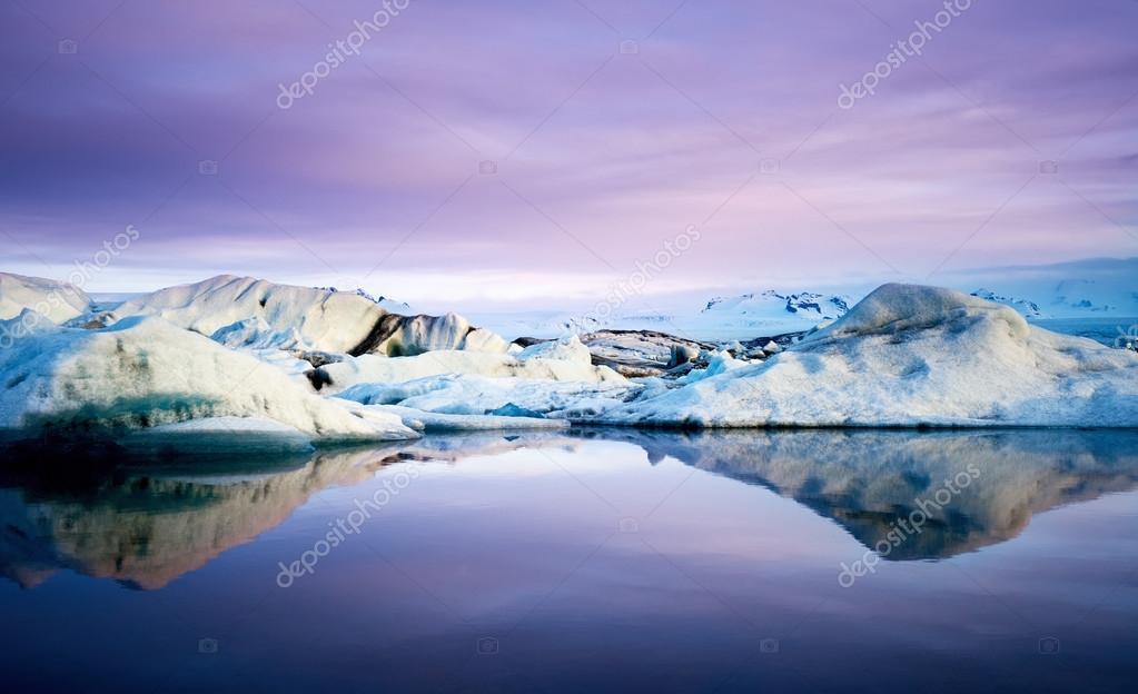 Jokulsarlon Lagoon in Iceland