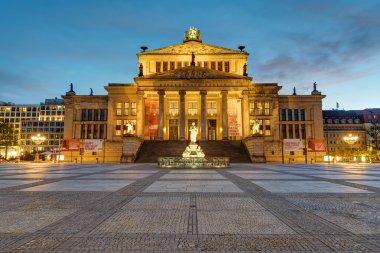 The Konzerthaus at the Gendarmenmarkt in Berlin at dawn