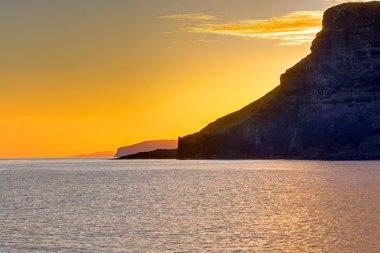 Sunset at Scotlands west coast