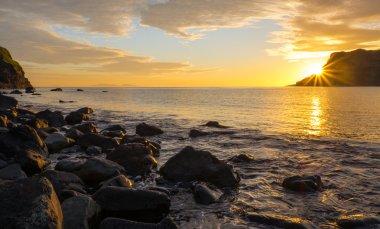 Sunset on the famous Isle of Skye