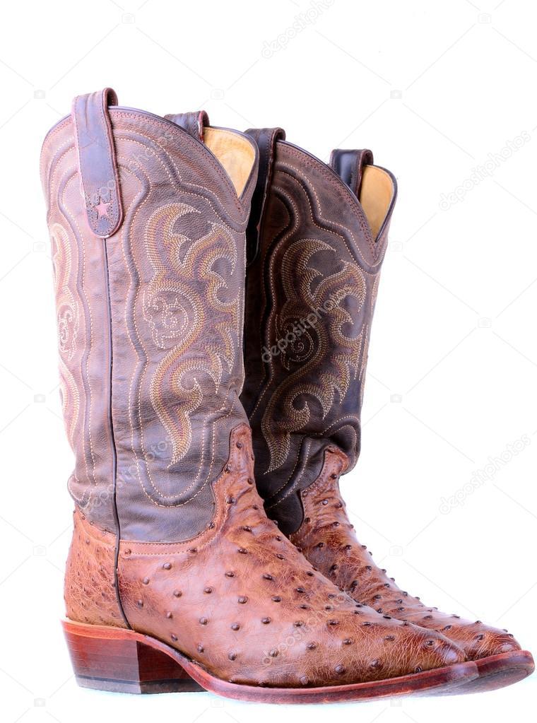 mejor amado 3fe9e 62991 Imágenes: botas | botas de cuero de avestruz — Foto de stock ...