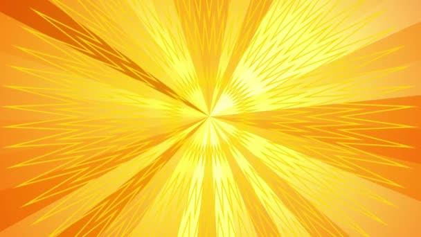 Sunbeam pohybu teplé paprsky pozadí