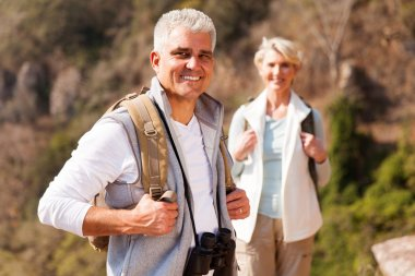 male hiker with wife