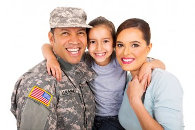 young military family