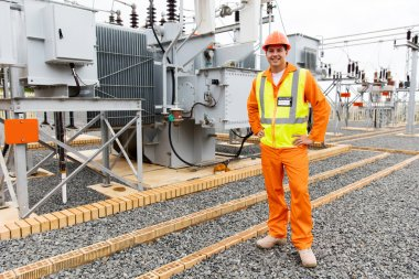 male electrical engineer