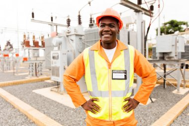 afro american technical worker