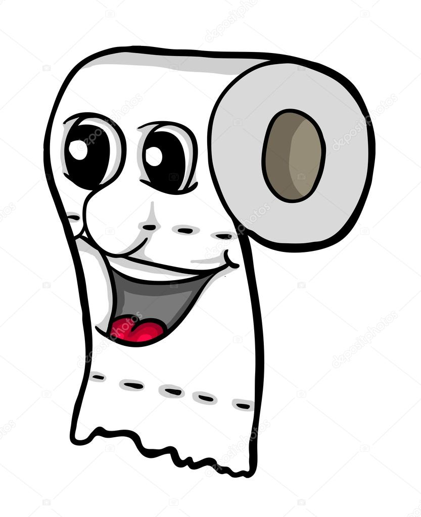 Imágenes Papel Higiénico Para Dibujar Papel Higiénico Con Sonrisa