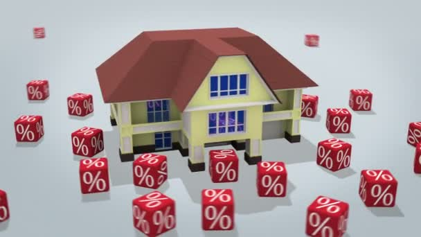 Mortgage concept 3d