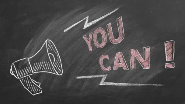 Das können Sie. Inspirierendes Motivationszitat.