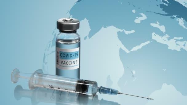 Impfkampagne. Konzept zur Bekämpfung des Coronavirus COVID-19.