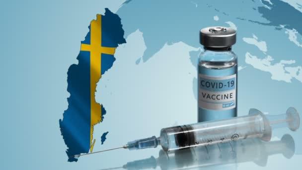 Impfkampagne in Schweden. Der Kampf gegen das Coronavirus in der Welt