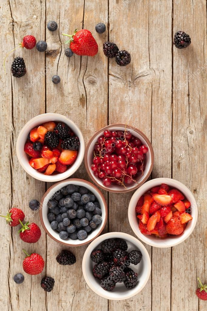Soft Fruits In Bowls