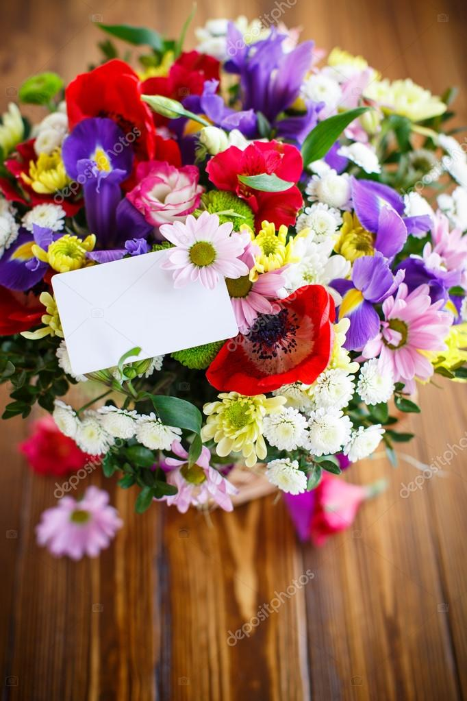 bouquet of spring flowers — Stock Photo © Rawlik #106734716
