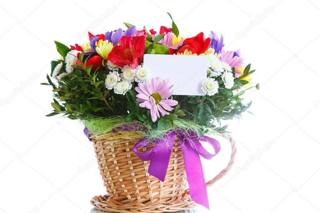 bouquet of spring flowers — Stock Photo © Rawlik #106735614