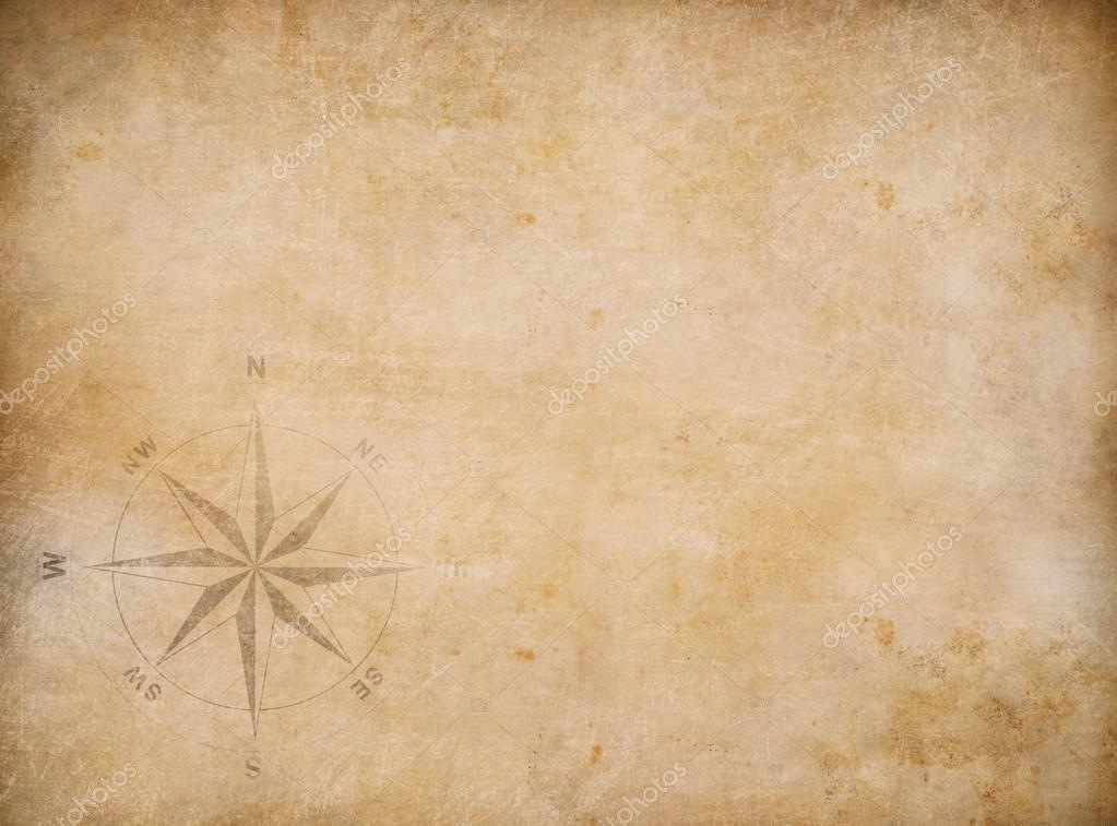 Aged Blank Nautical Treasure Map Background Photo By Andrey Kuzmin