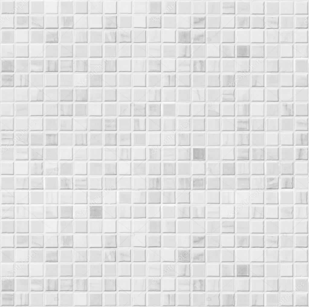 White Ceramic Bathroom Wall Tile Seamless Pattern Stock