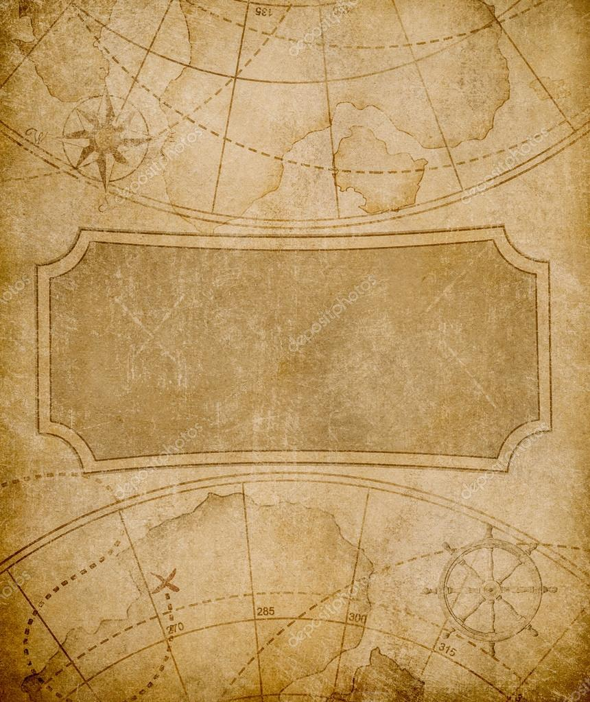 old map template