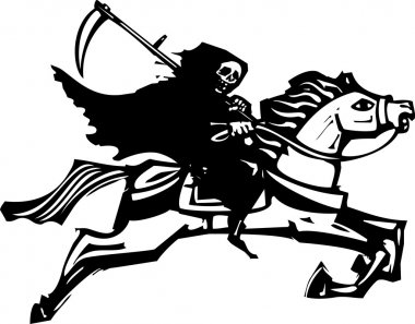 Death on a white horse