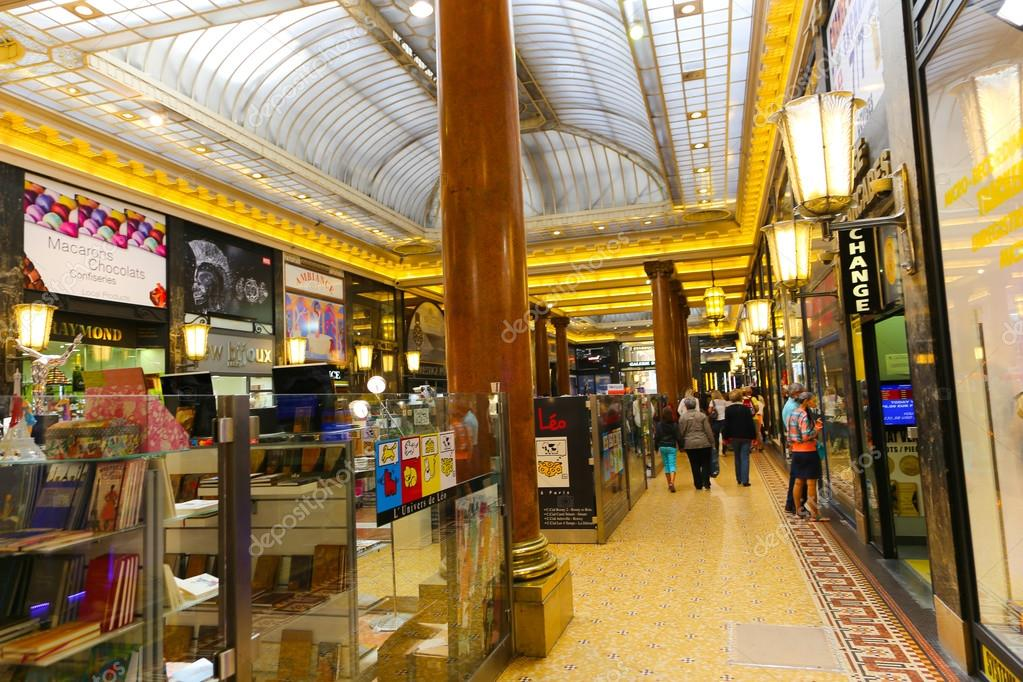 tourists stroll and shoping at mall paris france stock