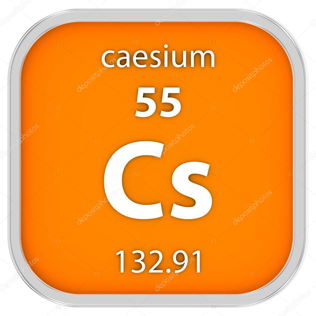 Caesium material sign stock photo nmcandre 73533539 caesium material on the periodic table part of a series photo by nmcandre gamestrikefo Gallery