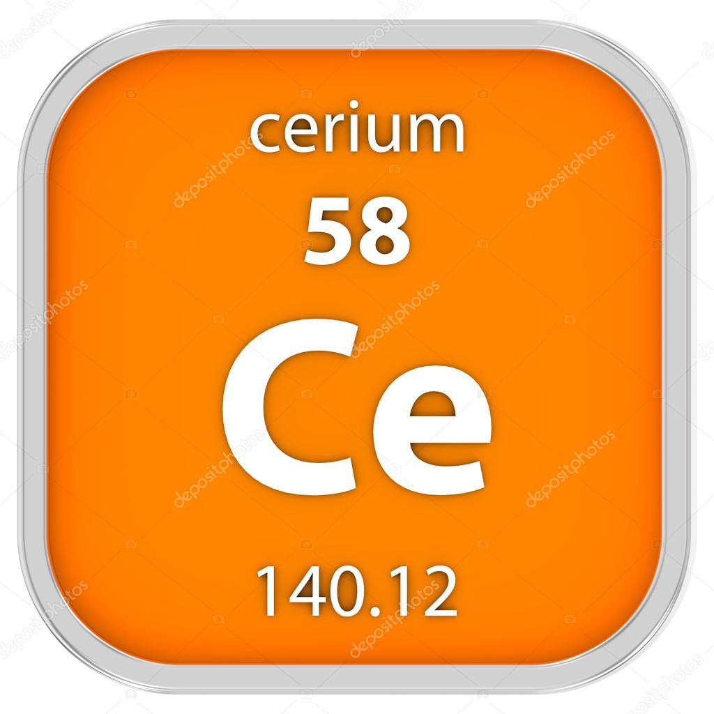 Cerium material sign stock photo nmcandre 73533575 cerium material on the periodic table part of a series photo by nmcandre urtaz Image collections