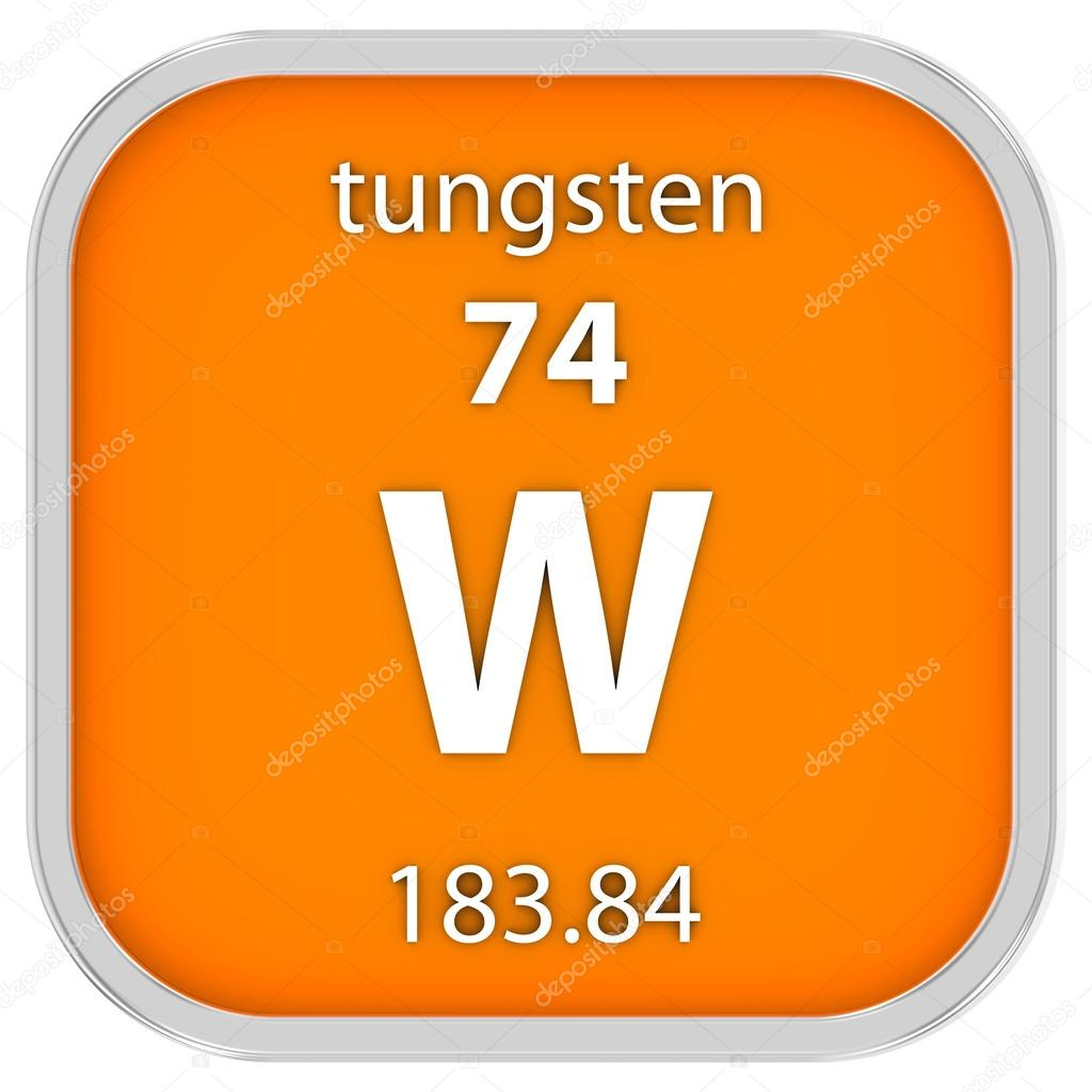 Tungsten material sign stock photo nmcandre 73534097 tungsten material on the periodic table part of a series photo by nmcandre urtaz Image collections