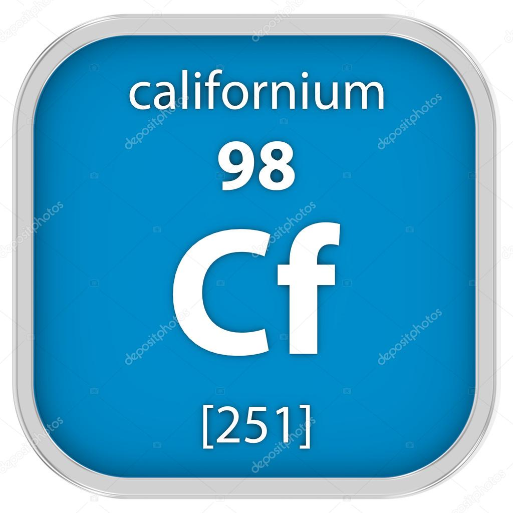 Californium material sign stock photo nmcandre 74200273 californium material on the periodic table part of a series photo by nmcandre gamestrikefo Images