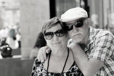 couple enjoying vacation together