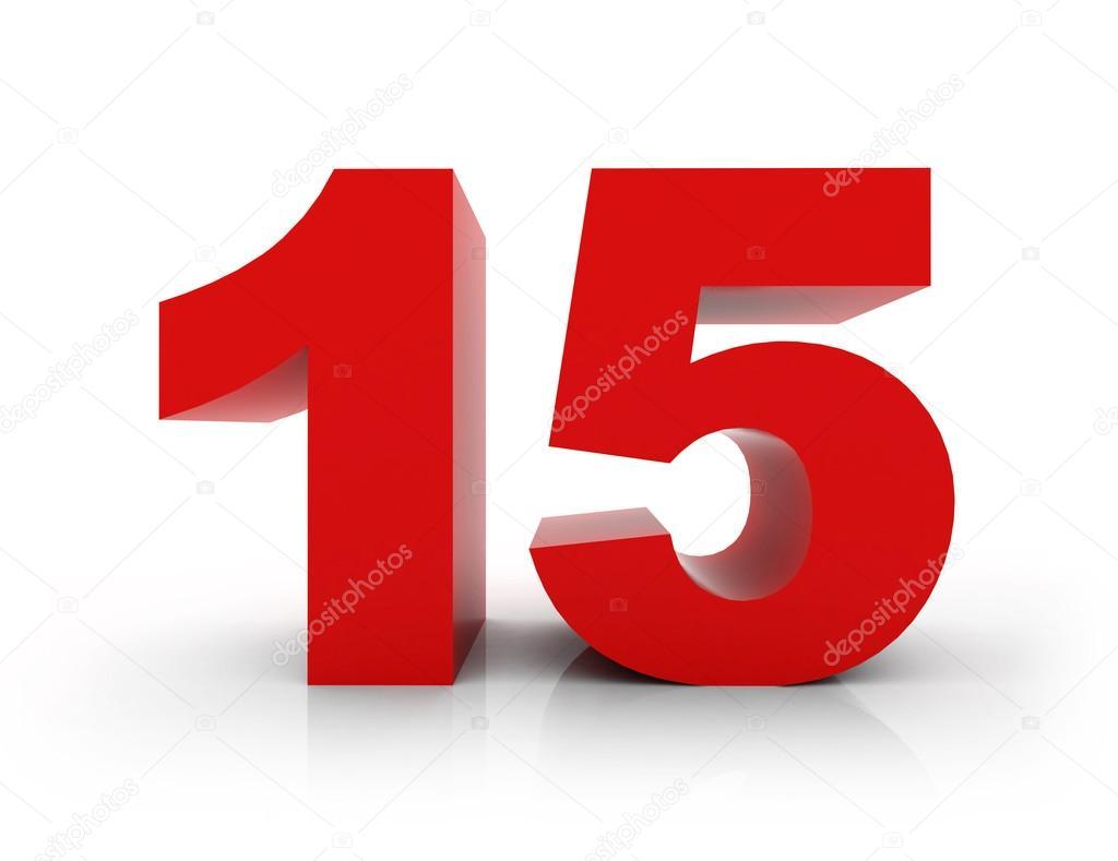 Number 15 design for Blueprint number