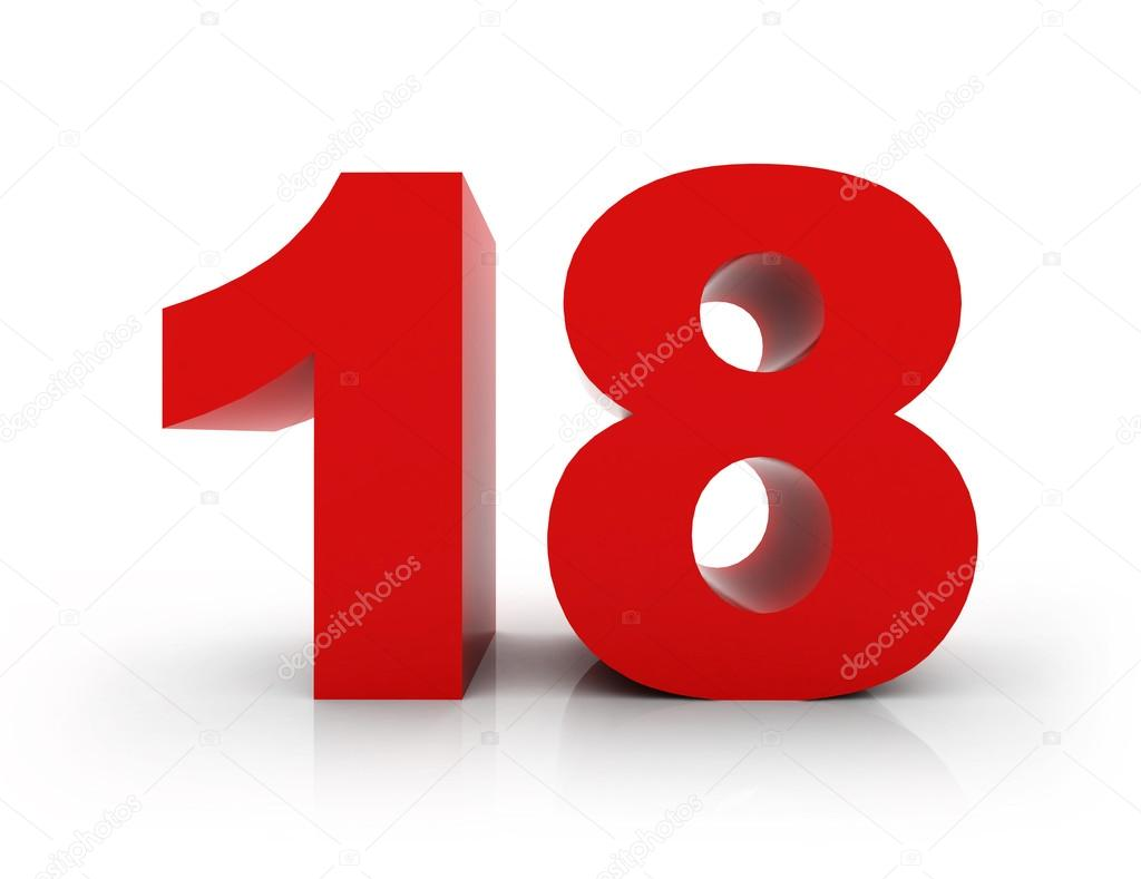 number 18  u2014 stock photo  u00a9 morenina  66714577