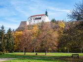 Fotografie Blick auf das Schloss vom park