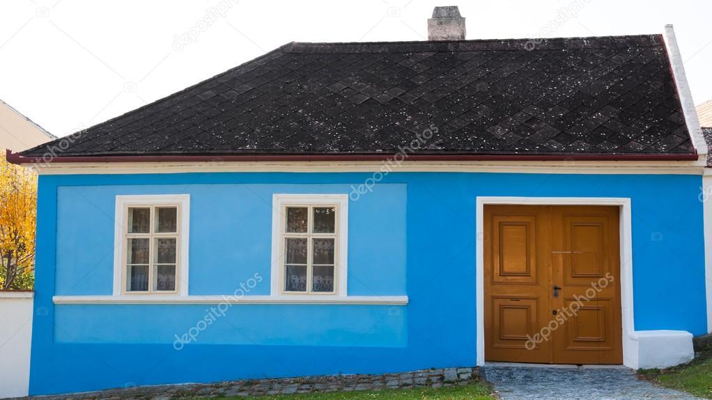 Fachada de casas azul fachada de casas azul fachada casa - Casas de color azul ...