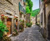 Fotografie Italienisch-Straße