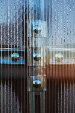 Fasteners plastic organic glass