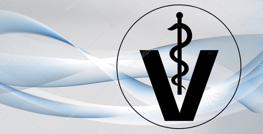 Top fundo de símbolo veterinária — Stock Photo © Mobilee #118498490 FH61
