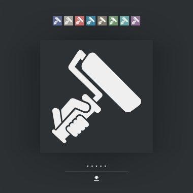 Painter roll symbol