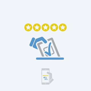 Rating vote icon