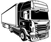 přívěs nákladní automobil