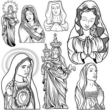 Virgin Mary Set