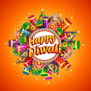 Vector happy diwali background stock vector