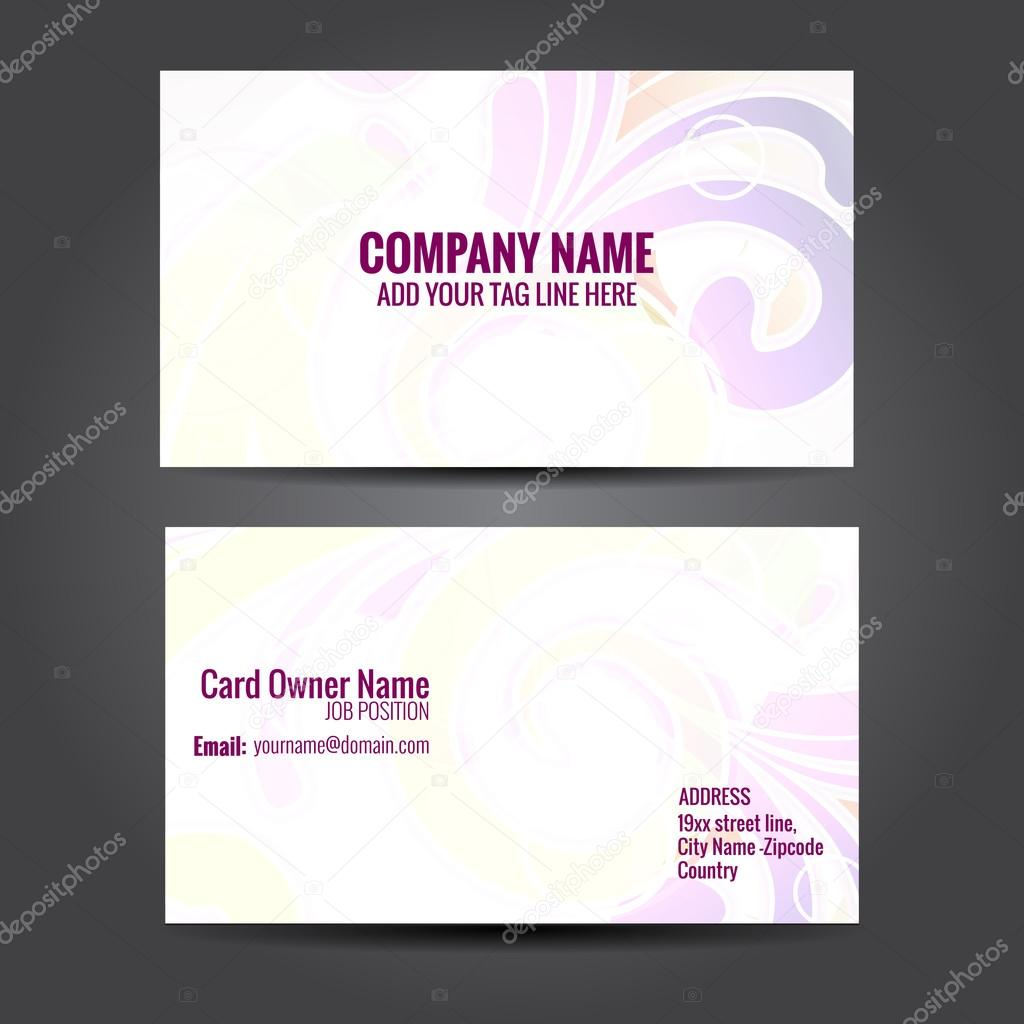 floral design business card — Stock Vector © pinnacleanimate #60713509